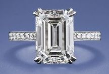 E m e r a l d  C u t / Emerald Cut Inspiration Page for engagement ring ideas