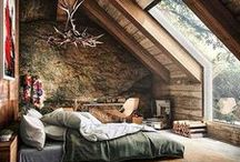 A Place to Sleep & Escape / Bedroom design