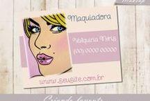 Cartão de visita / Lindos cartão de visita para você se inspirar