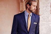 紺色 / メンズ 紺色スーツの着こなし例の画像を集めました。