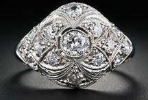 Jewelry-Diamonds (white) / by Denise