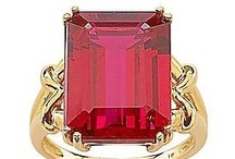 Jewelry-Rubies (red/pink stones) / by Denise