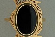 Jewelry-Onyx (black stones) / by Denise