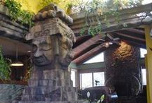 Themed Enviroments / Completed theme park environments that were designed, created, and installed by SG Studios.