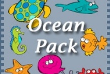 Themes: Ocean Life - OT Ideas / by Victoria Anderson