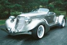 Machines ‣ I. Crazy horses 1885–1944 / Classic cars of the 1930s (mostly) / by Ant Allan