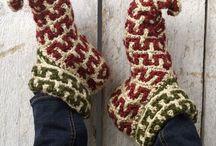 Crochet - Slipper Designs / by Victoria Anderson