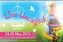Beauty for Ashes 2013 / This women's conference was held in Johannesburg in May 2013. Our two speakers were Sue Keddy from Canada and Mary DeMuth from Texas. The theme was 'Live Uncaged.' We also held the very first Christian blogging and writing conference in South Africa, Write Uncaged.