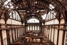 Abandoned Places / The most beautiful abandonned places in the world