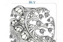 Zentangle Patterns - B / by Victoria Anderson