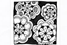 Zentangle Patterns - D / by Victoria Anderson