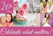 Beauty for Ashes 2015 / 2015 was our 20th year, so our theme was Celebrate What Matters, 22-23 May 2015. Our two speakers were Sheridan Voysey, an Australian now living in Oxford, UK, and Linda Isaiah from Ohio, USA.