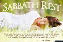 Rest & Sabbath Rest