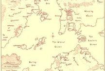 Fantasy ‣ VII. Cartographique / ☁ Fantasy maps ☁ / by Ant Allan