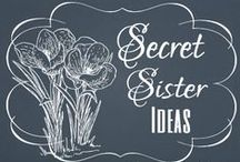 Secret Sister, Secret Santa / Also called Prayer Partners or Blessing Buddies
