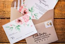 The Invitations/ Save the Dates. / by Melissa Rubin