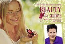Beauty for Ashes 2012 / Our speakers were Ellie Lofaro & Barbie Erasmus