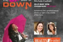 Beauty for Ashes 2016 / To be held on 20-21 May 2016 in Bryanston, Johannesburg. Michele Cushatt & Tricia Goyer will be our speakers. See more at www.beautyforashes.com