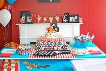 Cam's 2nd Birthday, ahoy mateys! / Cameron's turning 2! - yo ho mateys!  / by Jennifer Bromley