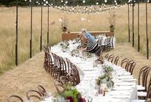 Feast in the Field / A lot of our events involve pretty intense setting up, it's all part and parcel of designing and building something from the ground up… But when you have plenty of creative freedom, a love for the bride and groom, a blank canvas (literally!) and three days in 45 degree heat… you know the result has to be pretty special! Event Styling + Design: The Style Co. Flowers: The Style Co. #thestyleco The Style Co. - Event Design + Styling www.thestyleco.com.au