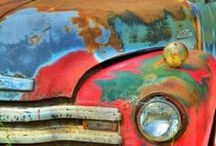 We like old trucks / Vintage trucks and vintage scenes / by Woodchuck Cider