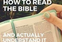 Bible Reading / Reading the Bible can be daunting. This board aims to give you suggestions of where to start and how to really enjoy it.