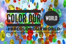 Color Our World by Project Beautiful / Focusing on color in the garden, in the kitchen and around the world!