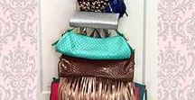 Purse Luv: Our Favorites / Purse and Handbag Storage/Organization as well as our favorite styles!