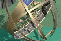 Armillary and Stellaruims / Celestial mechanics has intrigued man for all time. Mathematicians, Astronomers, Physicist and Sooth sayers alike. The Armillary and Orrery are equally fascinating.