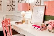 Office Spaces / ideas, organization, inspiration, decoration, work, work space, blogger, home office,