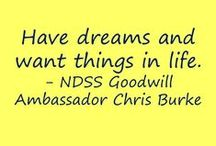 The One & Only Chris Burke / Actor and NDSS Goodwill Ambassador Chris Burke shares words of inspiration and encouragement. Learn more about Chris and the other NDSS Ambassadors here: http://ndss.org/en/News-Room/Media/Ambassadors/