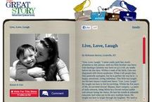My Great Story / NDSS' largest public awareness campaign, My Great Story, seeks to ignite a new way of thinking about people with Down syndrome by sharing stories written by and about them. There are over 400 stories in collection, housed in a unique online storybook.  The My Great Story of the Month Contest awards a prize to the author of the highest voted story each month.   This board features the winner of the contest each month.  Visit www.ndss.org/stories to share your story or vote for your favorite!