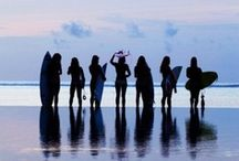 | On the beach |