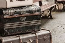 Suitcase Collection / SUITCASE: Suitcases, vintage suitcases, antique suitcases, retro suitcases, shabby chic suitcases, contemporary suitcases, old fashioned suit cases, traditional suitcases, leather suitcases, metal suitcases, silver suitcase, pastel suitcases, suitcase ideas, suitcase furniture, suitcase storage, upcycled suitcases, reused suitcases, repurposed suitcases, suitcase shelves, suitcase tables, suitcase furniture