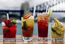 BOAT DRINKS / Yummy Liquid concoctions! On a hot day sitting at the bar at the top of the beach they go down real well!!!