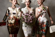 FASHION WITH FLORALS AND PRINTS / by Ronni Ascagni