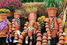 Creative Clay Pots / by MariAnne Krider