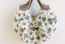 Crocheted Bags, Purses & Baskets / by Taunya Castillo