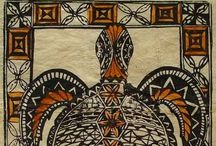 TAPA CLOTH / Tapa cloth designs from all over the Pacific