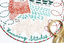 Running Stitches / Embroidery