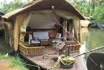 BOAT HOUSE / Living afloat, I love it so much!