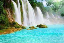 WATERFALLS / It such a relaxing feeling watching & hearing water fall.