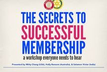 Retaining Members / How do you keep members in your group or club? Keeping members informed, engaged and happy helps groups and clubs thrive.