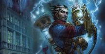 Grimoire - Reaction Izzet Inspiration Board / Grimoire - Izzet Inspiration Board for Wizardry Foundry