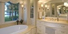 Beauty for the Bath / How-to, bathroom design blogs, tutorials and creative ideas showing fabulous Showers, Bathtubs and Vanities. Refresh you bath with these decorative ideas and helpful tips for redecorating your bath.