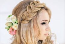 Swell Wedding Hair / HAIR & MAKEUP Services www.swellbeauty.com  -We service any Location- Follow us on Social Media @swellbeauty  / by Swell Beauty