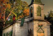 Churches  / by Deborah Hardin