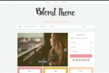 My Digital Goods / Digital products I've created. Wordpress blog themes and social media icons.
