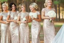Swell Bridesmaids Dresses / HAIR & MAKEUP Services www.swellbeauty.com  -We service any Location- Follow us on Social Media @swellbeauty  / by Swell Beauty
