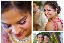 Swell Indian Bride / HAIR & MAKEUP Services www.swellbeauty.com  -We service any Location- Follow us on Social Media @swellbeauty  / by Swell Beauty